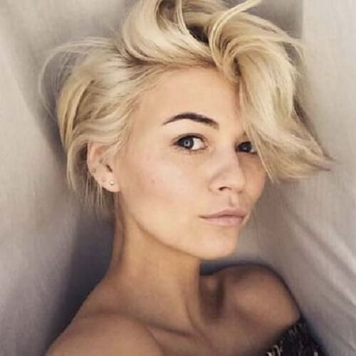 Image Result For Pixie With Long Bangs