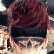 zigzag undercut design