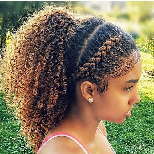 Cute Short Hairstyles For Natural Hair Page 1