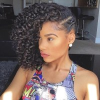 50 Cute Natural Hairstyles for Afro