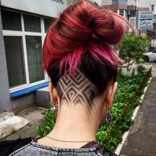 Make your hair appear thicker with these easy hairstyles (both short and long) inspired by your favorite celebrity haircuts. Undercut For Women 60 Chic And Edgy Ideas To Try Out Hair Motive
