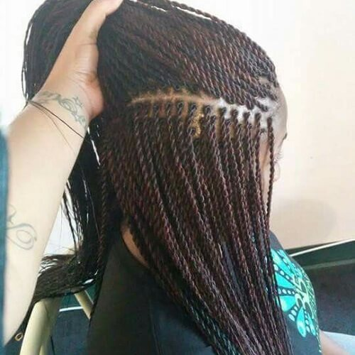 Image Result For Black Long Ided Hairstyles