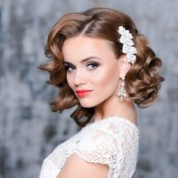 Pictures Of Wedding Hairstyles For Shoulder Length Hair