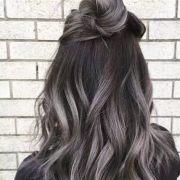 lavish silver & gray hair ideas
