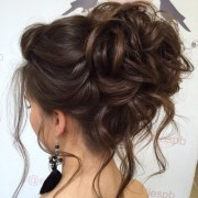 graceful updos long hair