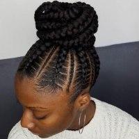 50 Enchanting Ideas for Ghana Braids   Hair Motive Hair Motive