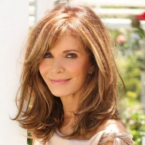 30 Medium Length Hairstyles For Women Over 50 Hairstyles Ideas