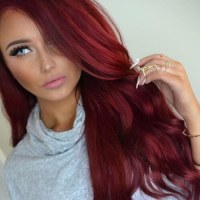 Deep Ruby Hair Color Pictures to Pin on Pinterest - PinsDaddy