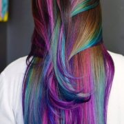 mermaid hair colors & styling