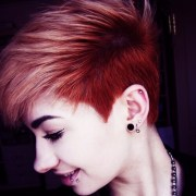 fiery red ombre hair ideas