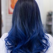 super cool blue ombre hair styles