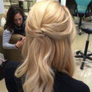 delicate bridesmaid hairstyles