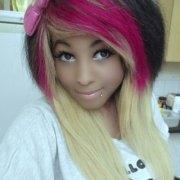 scene & emo hairstyles girls
