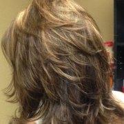 funky shag haircut