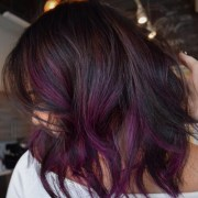 plum hair color ideas
