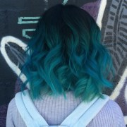 teal hair color inspiration