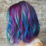 color hair 50 teal