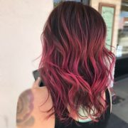 magenta hair 50 cool shades &