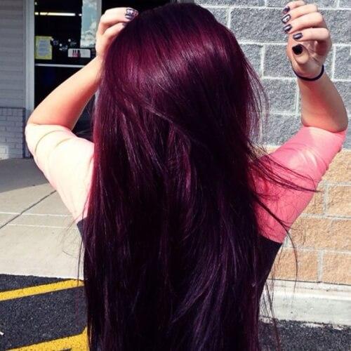 magenta hair 50 cool