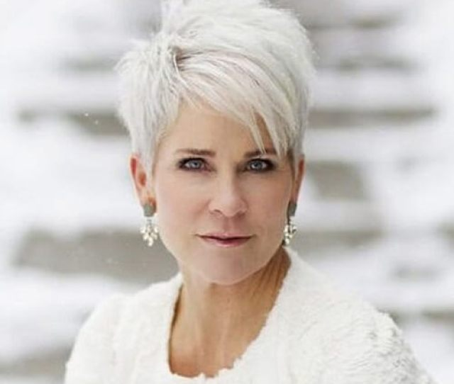 Short Hairstyles For Fine Hair Over