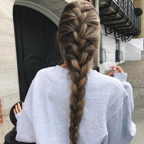 French Braid Madness 50 Hairstyles to Try Out  Hair