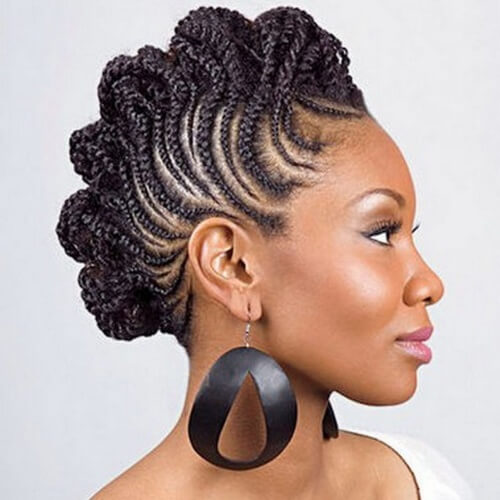 See 50 Ways You Can Rock Braided Mohawk Hairstyles Hair Motive