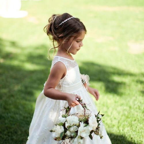 Keep Them Looking Lovely 50 Heartwarming Flower Girl Hairstyles