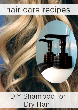 Natural Shampoo Recipes How To Make Shampoo For Dry Hair