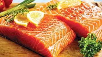 salmon for healthy hair
