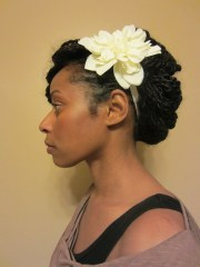 afro puffy twists protective