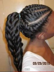 blow- and flat-twist bun hairscapades