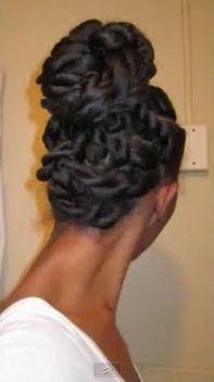 blow- and flat-twist bun hairscapades
