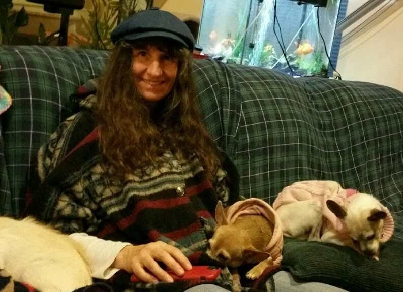 sue with Dogs (2)