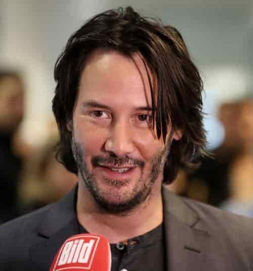 KEANU REEVES HAIR 2018