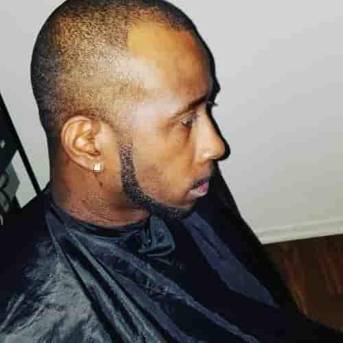 JAWLINE CHIN STRAP BEARD FOR BLACK MEN