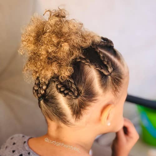 LEO STYLE FOR TODDLERS WITH CURLY HAIR