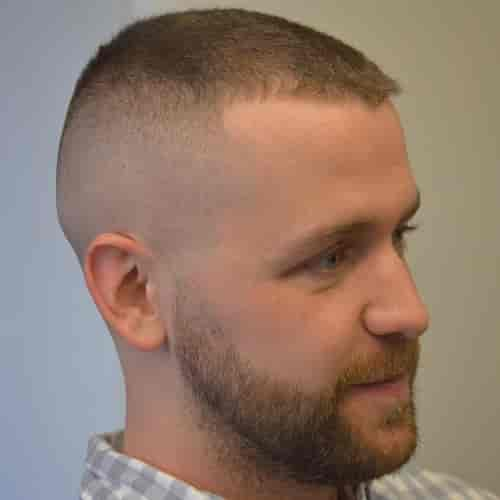 NAVY APPROVED HIGH AND TIGHT HAIRCUT