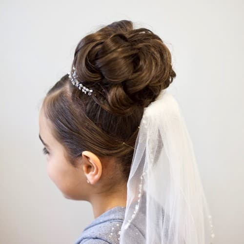 53 First Holy Communion Hairstyles For Kids [BEST]