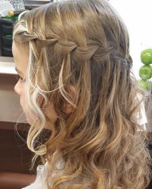 Stylish Italian Crown Braid Hairstyle