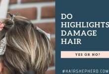 Do Highlights Damage Hair