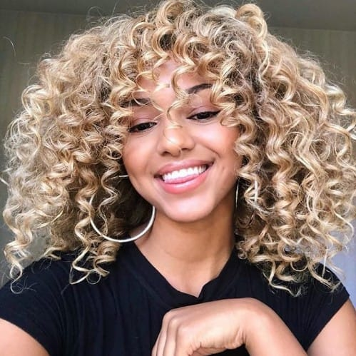 Cinnamon Swirl Hair Color