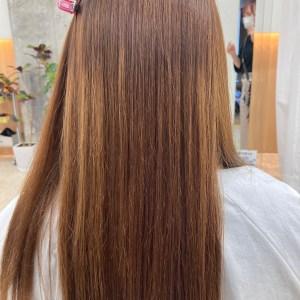 髪質改善酸性ストレートAfterアフター