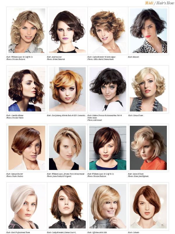 HAIRS HOW Vol18 1000 HAIRSTYLES  Hair and Beauty Educational Books