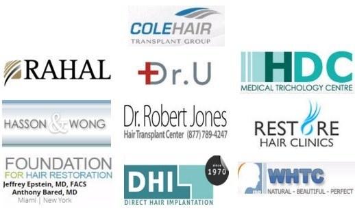 hair transplant doctors sponsors on HairSite