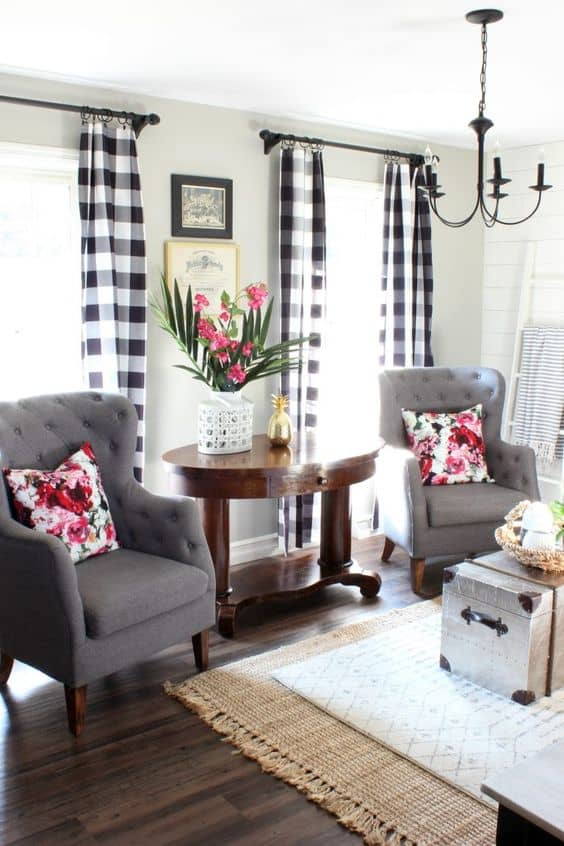 Buffalo Check Decor Ideas for Christmas fall and yearround decorating
