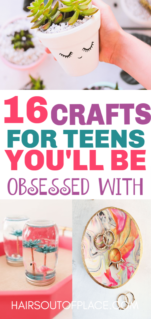 30 Fun Crafts For Teens That Will Bring Out Their Inner Artist