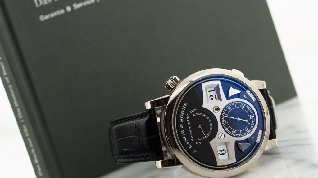 A Lange Sohne Zeitwerk Striking Time