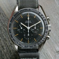 A Perfect 105.012 Omega Speedmaster 'Two-Liner'