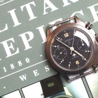 Lemania Royal Navy Series 3 Military Chronograph