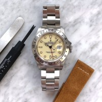 The Controversial Cream Dial 16570 Explorer II
